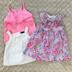 Baby Girl Summer Bundle Dress & Tops OshKosh Pink